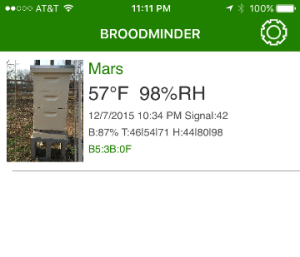 BroodMinder App